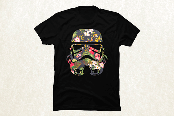 Tropical Stormtrooper T-shirt