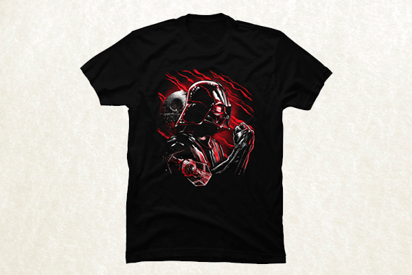 Wrath of Darth Vader T-shirt