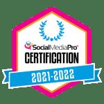 Social Media Pro Certification Badge