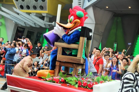 Woody Woodpecker as the Director