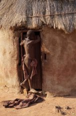 Junge vom Stamm der Himba