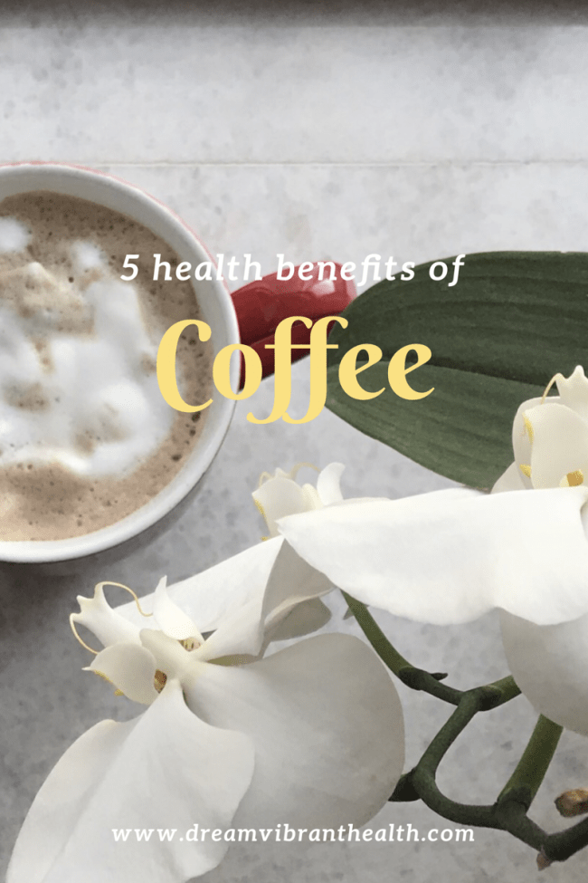 What is new with drinking coffee for good health?