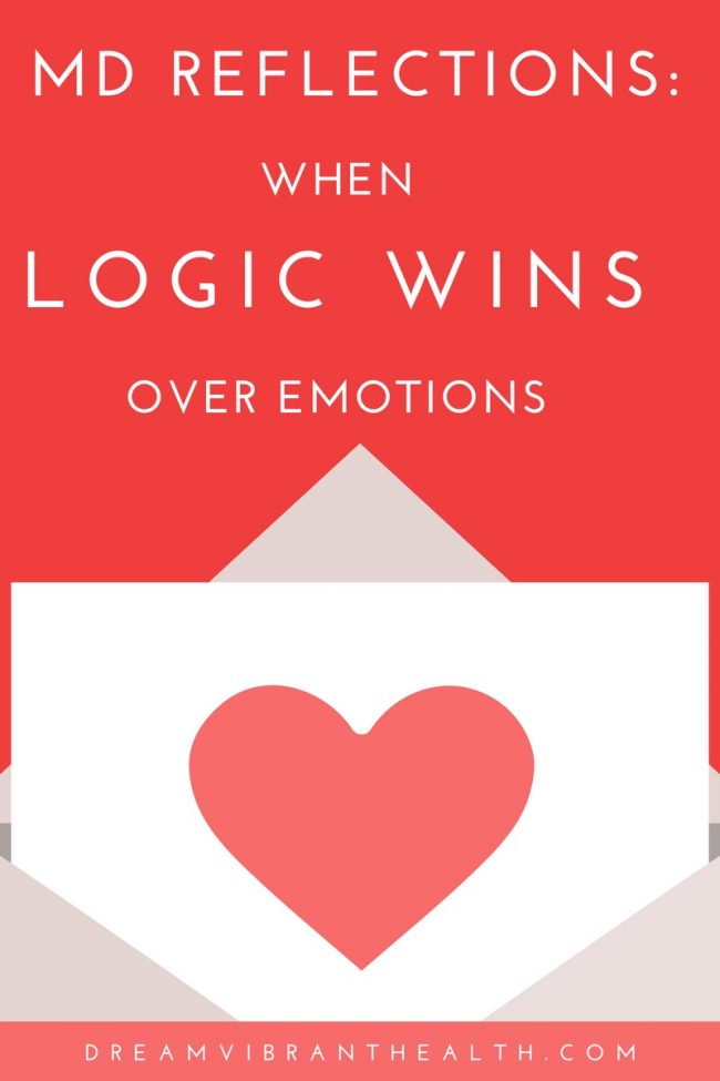 Emotion versus logic in medicine: where do physicians draw the line?