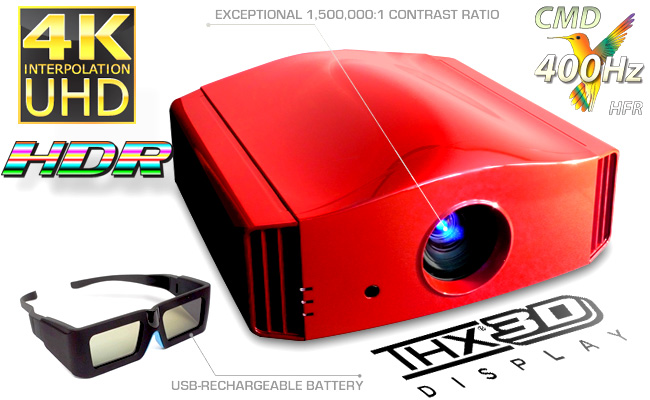 > Press Release: Siglos+ 4K 3D Home Cinema Projector