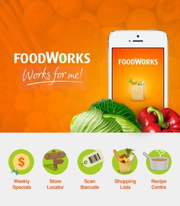Features of Foodworks app by DreamWalk