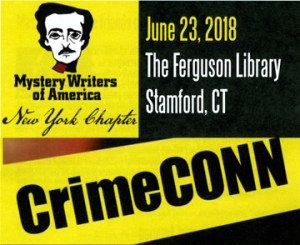 CrimeCONN-2018, Mystery Writers of America
