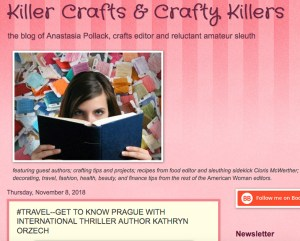 Killer Crafts & Crafty Killers blog post about Prague travel