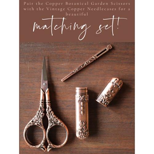 Botanical Garden Scissors and Darning Needle Set, Dream Weaver Yarns LLC