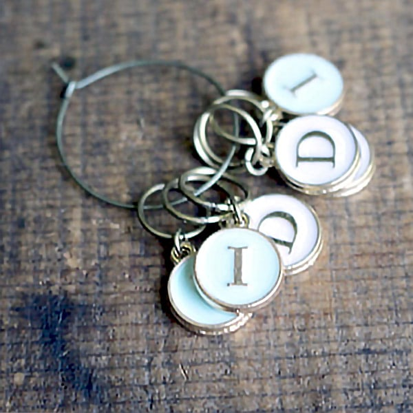 Mark Your Place Stitch Markers (Increase and Decrease)