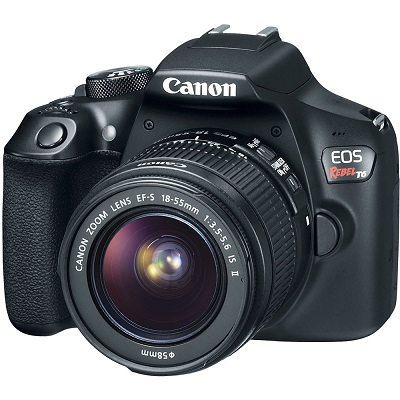 Canon EOS Rebel T6 Digital SLR Camera With 18 - 55mm Lens