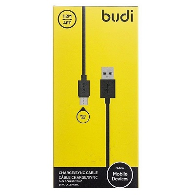 Budi Micro USB to USB Charger Cable - M8J150M