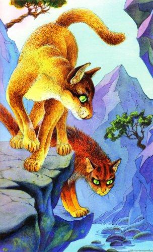 Арт по котам воителям 2