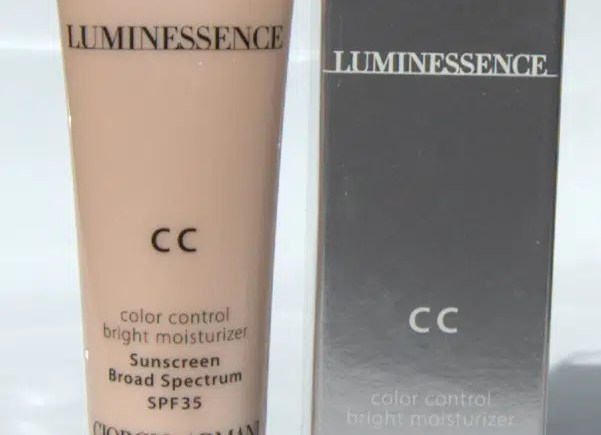 Armani Luminessence CC Cream #2 and #3: Review and Swatches ...
