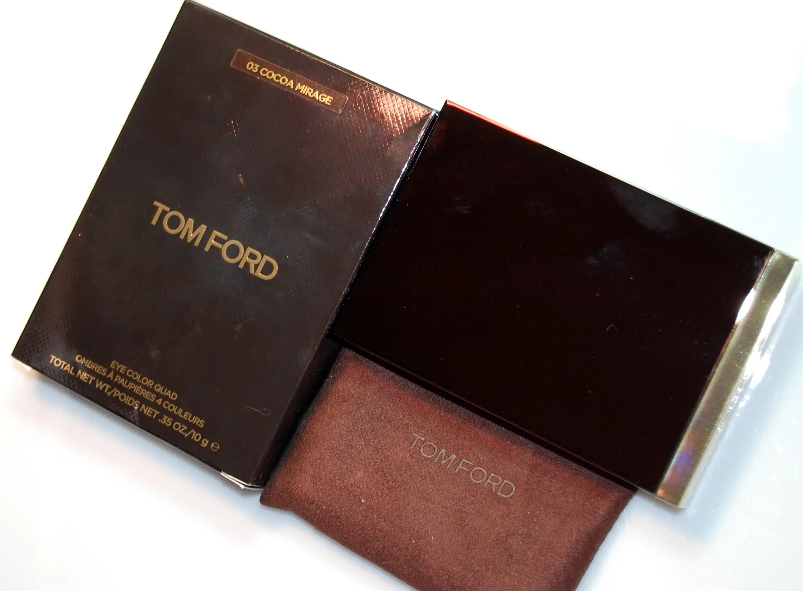 Tom Ford Cocoa Mirage Eye Color Quad Review Ingredients Swatches