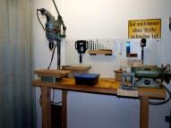 Bohren und Werkzeugschleifen