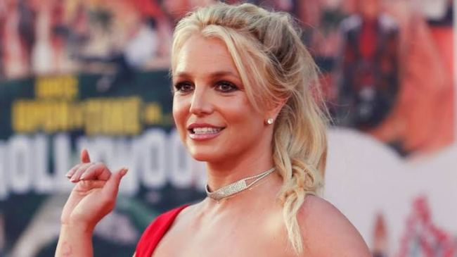 Britney Spears Shows Off Her Bikini Body At Malibu Beach