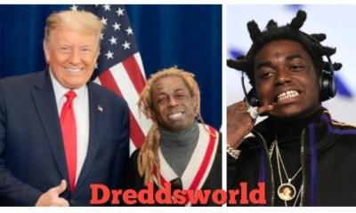 Kodak Black & Lil Wayne Officially Pardoned By Trump