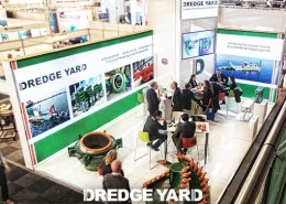 Dredge Yard in Europort Exhibition 2015