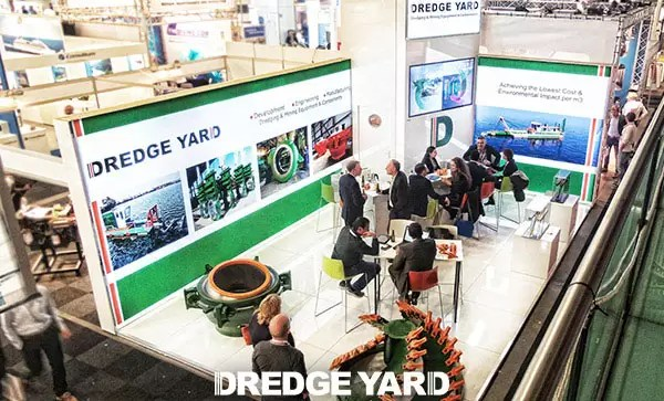 Dredge Yard in Europort Exhibition 2015