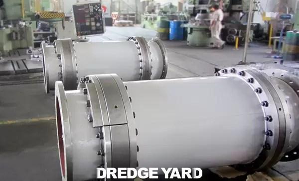 Dredge Yard delivered turning glands for several TSHD's