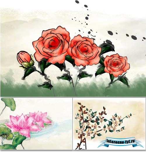 Детские картинки нарисованные цветы » DreemPics.com ...