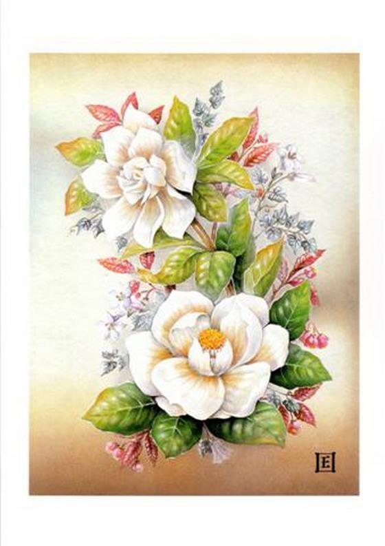 Картинки цветов нарисованные детские » DreemPics.com ...