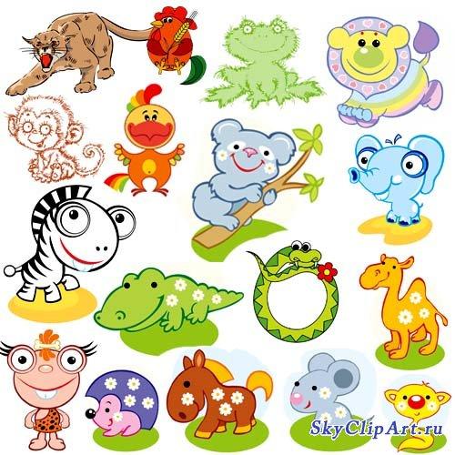 Детские картинки животных » DreemPics.com - картинки и ...