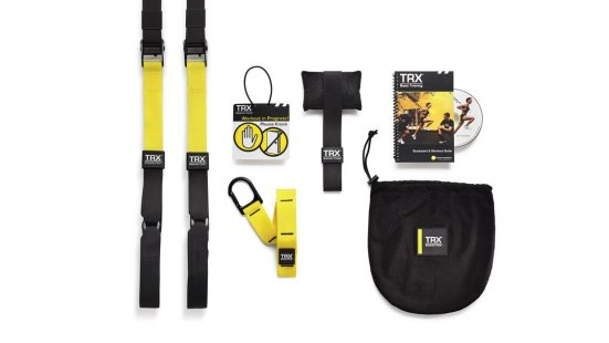TRX system check it out on Amazon.com. Definitely one of the best bodyweight tools, used by all my clients.