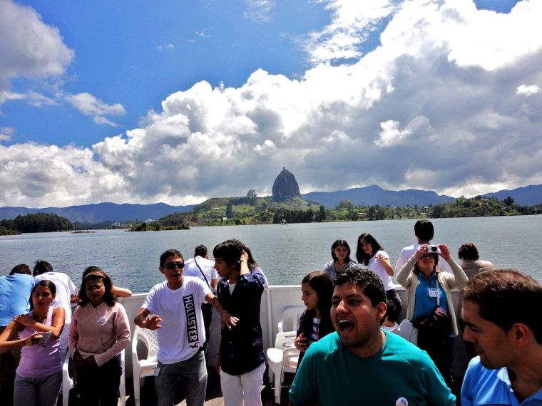 Colombia trip The Rock of Guatape