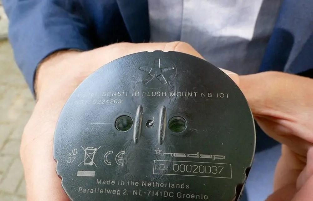 Sensor für einen Parkplatz - ParkandJoy