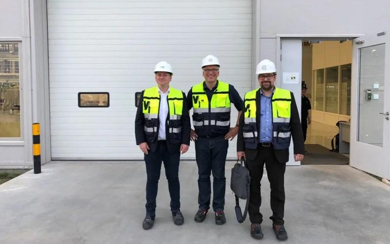 Besuch der Prototypen-Fertigung von Byton