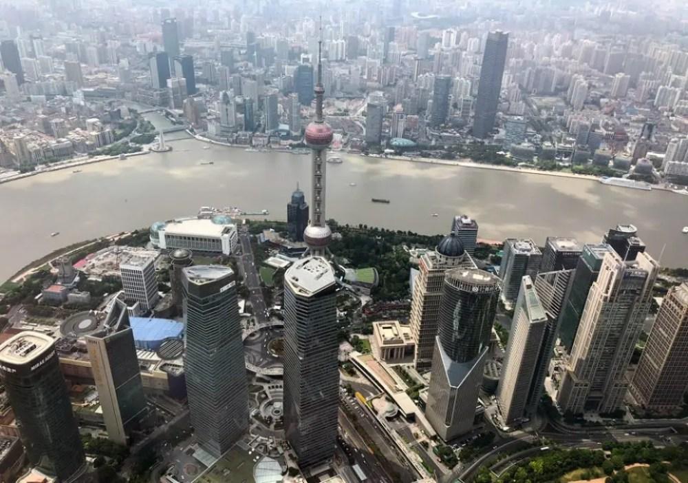 Blick vom Shanghai Tower (c) Dirk Kunde