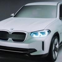 Bekenntnis zur Elektromobilität –der BMW Concept iX3
