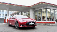 Testfahrt mit dem Tesla Model S P85+