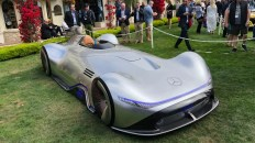 Supercar in Pebble Beach: Vision EQ Silver Arrow