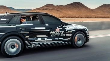 Marvel-Spiel mit VR-Brille im Audi e-tron