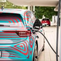 Den VW ID3 mit bis zu 125 kW laden