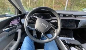 Audi e-tron Innen Lenkrad