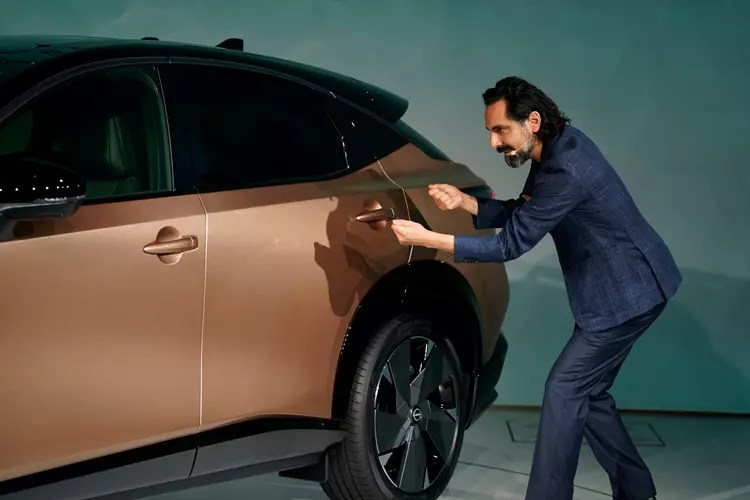 Nissan Ariya Designer Giovanny Arroba