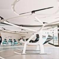 Volocopter bietet erste Flüge für Passagiere im Senkrechtstarter an