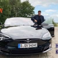 Hardy Krüger Jr.: Sein erstes Mal im Tesla Model S