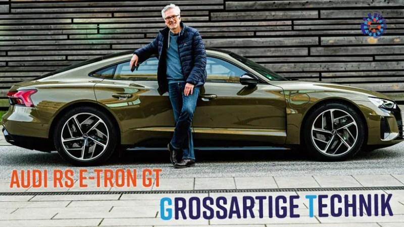 Test Audi RS e-tron GT