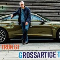 Audi RS e-tron GT: Der Sehnsuchts-Sportwagen