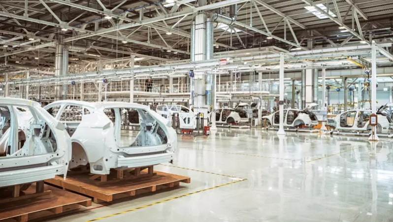 Byton Fabrik in Nanjing