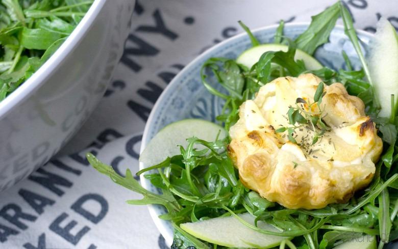 ziegenkaese-ruccola-salat-blaetterteig-koerbchen
