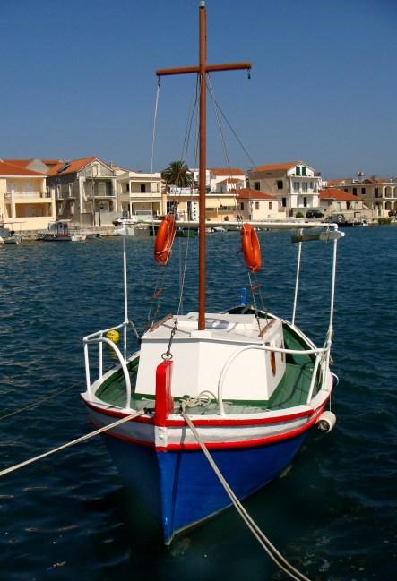 little Greek fisher-boat