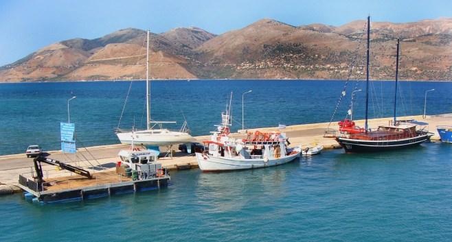harbour of Lixouri