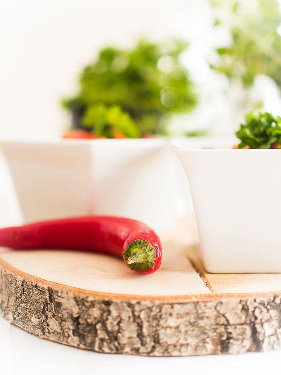 vegetarisches Linsen Chili