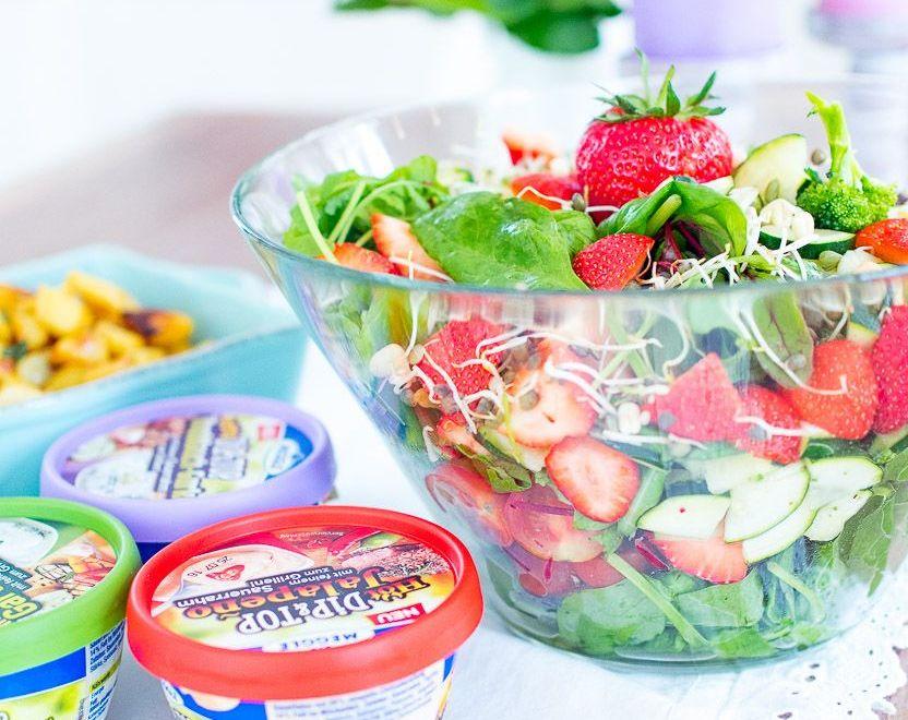 dreiraumhaus meggle dip top grillen food salat saucen rezept