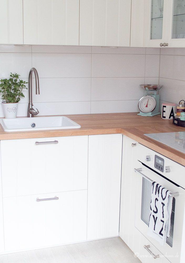 Küchenzeile ikea  Ikea Hittarp Landhausküche...ein Raum der glücklich macht!